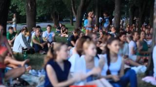 Фестиваль живой музыки и кино в саду