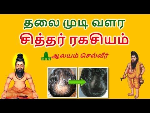 தலை முடி வளர சித்தர் ரகசியம்  | Siddha Maruthuvam Hair Growth