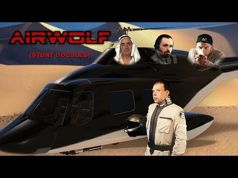 Airwolf Shadow of the Hawke Stunt Doubles