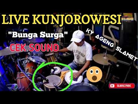 Cek Sound NEW PALLAPA Syahdu Sekali Live Kunjorowesi