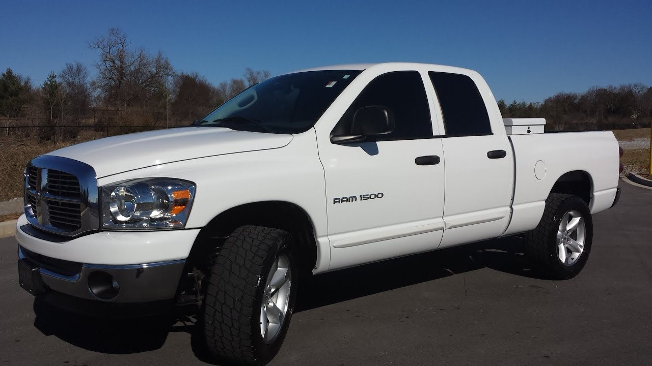 Big Horn Crew Cab 4x4 >> SOLD.2007 DODGE RAM 1500 QUAD CAB 4X4 BIG HORN EDITION 136K 4.7 MAGNUM V-8 CALL 855.507.8520 ...