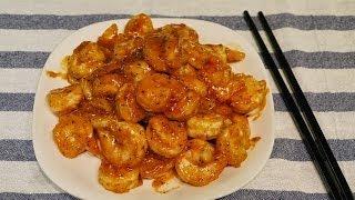 Stir fried Sweet and Sour Shrimp 快炒甜酸蝦仁