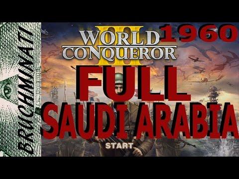 World Conqueror 3 Saudi Arabia 1960 Conquest Full