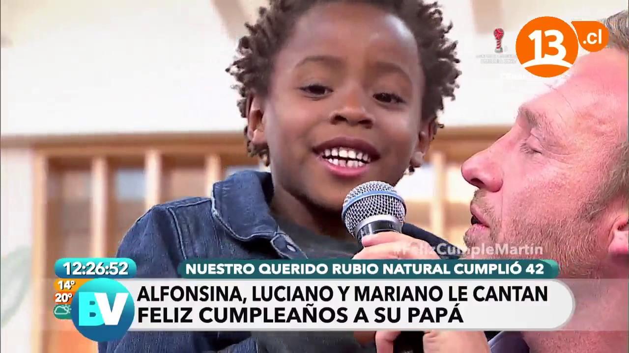 Martín festeja con sus hijos | Bienvenidos #1