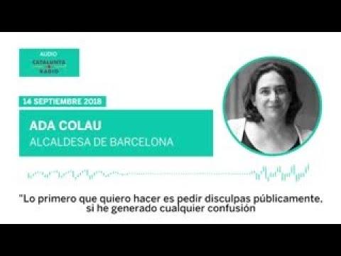 ADA COLAU indigna a la Universidad de Barcelona y pide disculpas | Cataluña