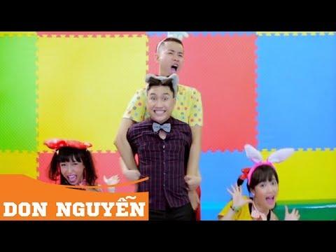 Liên Khúc Thiếu Nhi Don Nguyễn | Chú Ếch Con | Con Cào Cào | Hai Con Thằn Lằn Con