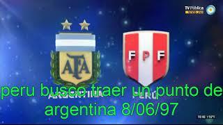 Peru en las eliminatorias francia 98