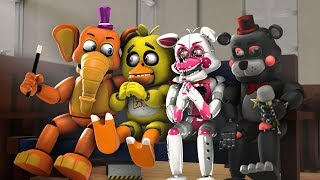 FNAF 6 SCHOOL OF ANIMATRONICS ANIMATION COMPILATION SEASON 1