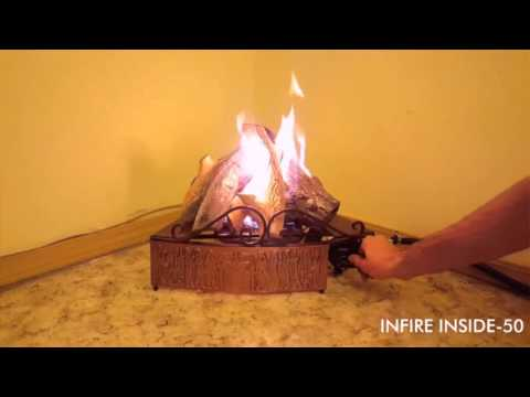 Газовая горелка для камина INFIRE INSIDE-50