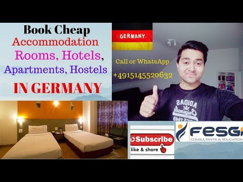 Book Cheap Accommodation, Rooms, Hotels, Apartments, Hostels In Germany