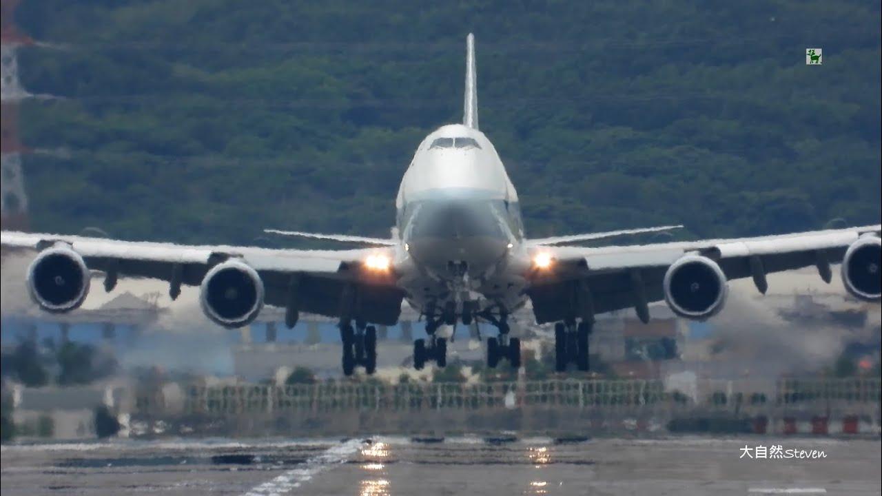 2020全視野~ 桃園機場北跑道23L航班起降@桃園機場 Planespotting Taipei (RCTP) | 23L Close-Up Landing & Take-Off - YouTube