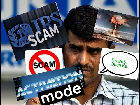 """Angry IRS Scammers Driven to Meltdown """"ACTIVATION MODE""""!!!"""