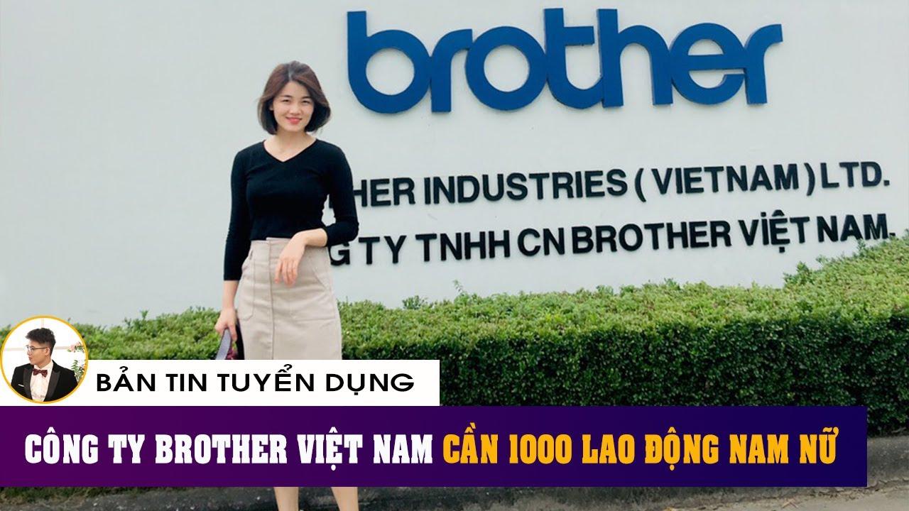 Thumb [Bản Tin Tuyển Dụng] | Công ty TNHH Brother Việt Nam Tuyển Dụng 2021 | Việc làm Hải Dương
