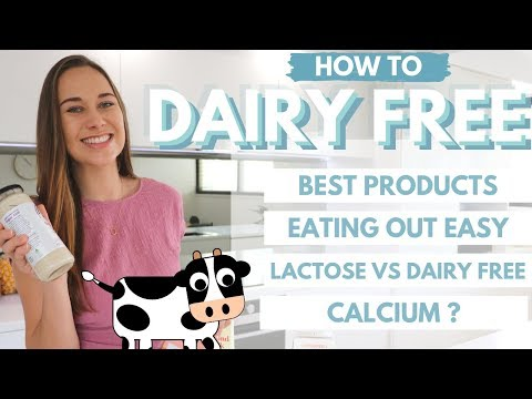How To: DAIRY FREE TIPS for Acne (Dining Out Easily, BEST Substitutes & Getting Your Calcium)