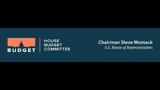 FY 2019 Budget Resolution Markup Day 1