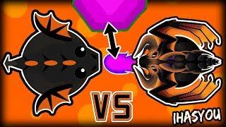 Video NOOB vs. PRO -  MOPE.IO BLACK DRAGON BATTLE!! download MP3, 3GP, MP4, WEBM, AVI, FLV Maret 2018