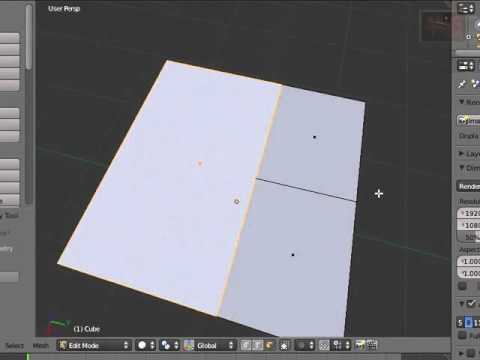 Blender 3D Tutorial - How to use the Knife Tool by VscorpianC