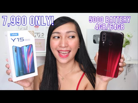 VIVO Y15 : UNBOXING & REVIEW(ML,COD,CAMERA,HEATING,BATTERY)