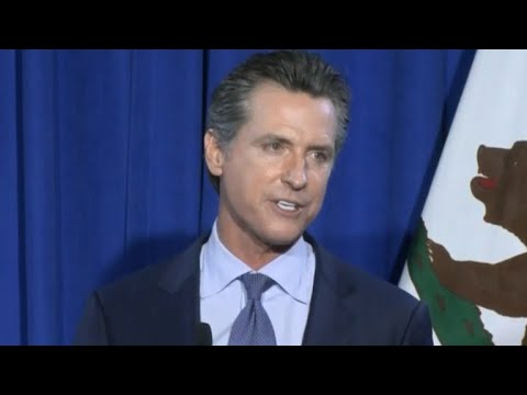 California: Will Gavin Newsom have to come down to earth? - YouTube
