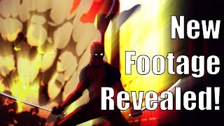 Deadpool Animated Series Test Footage Revealed!