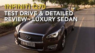 Infiniti Q70 Test Drive  Detailed Review - Luxury Sedan