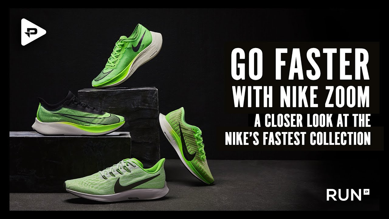 GO FASTER WITH NIKE ZOOM - a closer