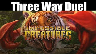 Impossible Creatures - Three Way Duel! - Multiplayer Gameplay
