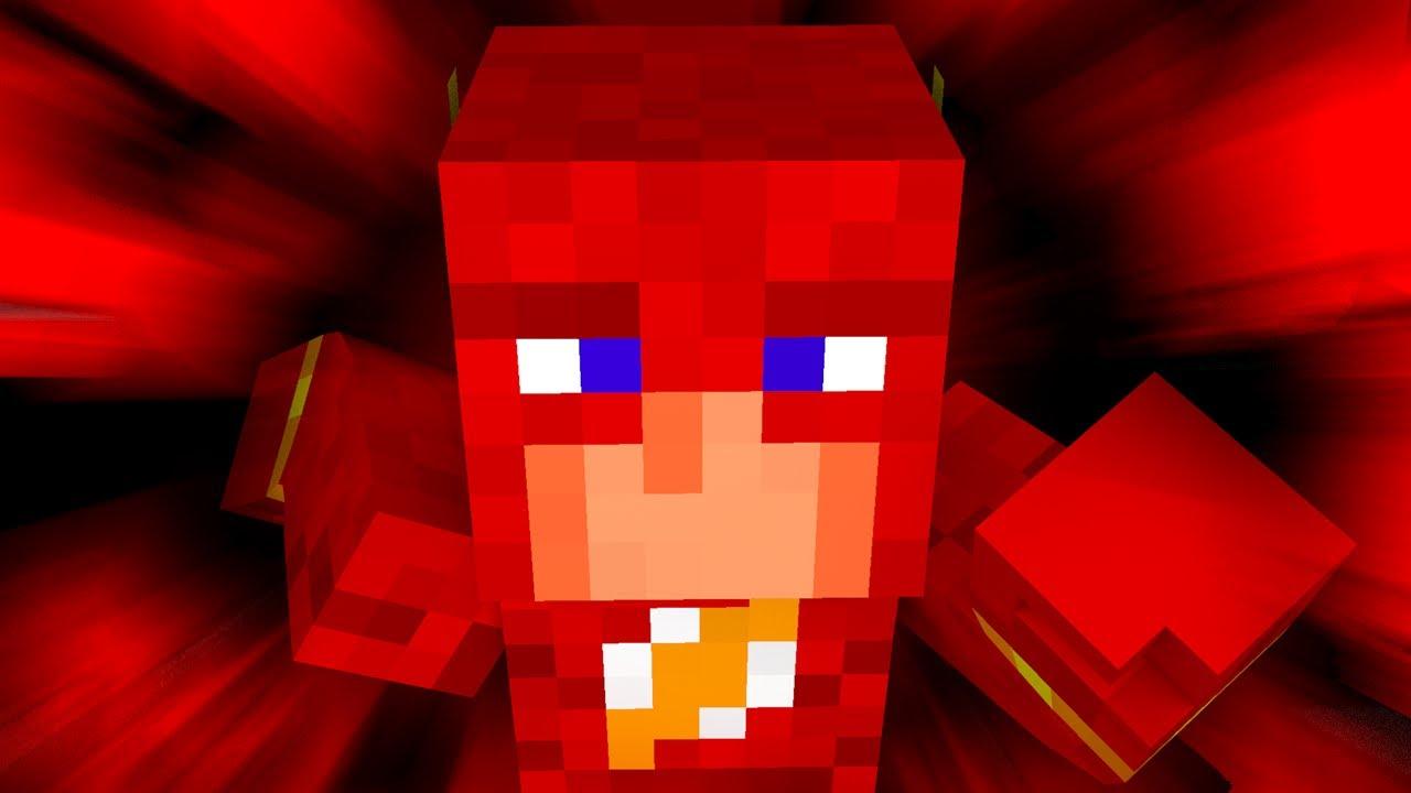 Flash In Minecraft Super Speed 1 6 4 Mod Youtube
