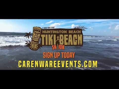 Tiki Beach 5k/10k - August - Bolsa Chica State Beach, Huntington Beach