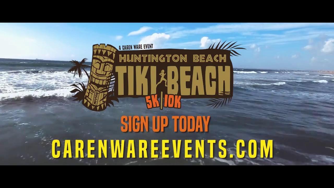 Tiki Beach 5k/10k (August) — Caren Ware Events