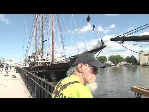 Tall ships arrive in Green Bay for festival