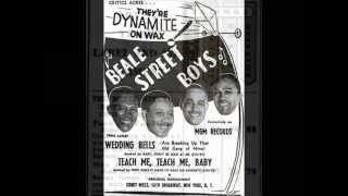 The Beale Street Boys - Teach Me, Teach Me, Baby