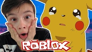 IK HEB PIKACHU VERMOORD?! | Roblox Pokemon Brick Bronze