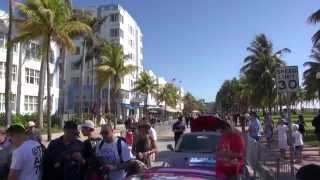 (10 min) Miami just before flag drop Gumball 3000 Miami to Ibiza Part 2