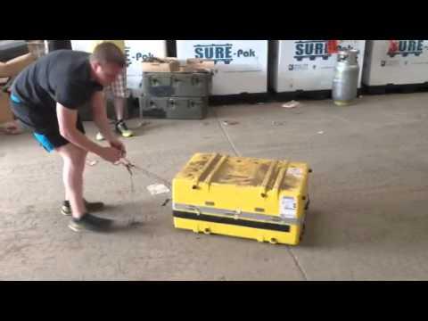 Mibot 20 Man Self-Inflating Life Raft