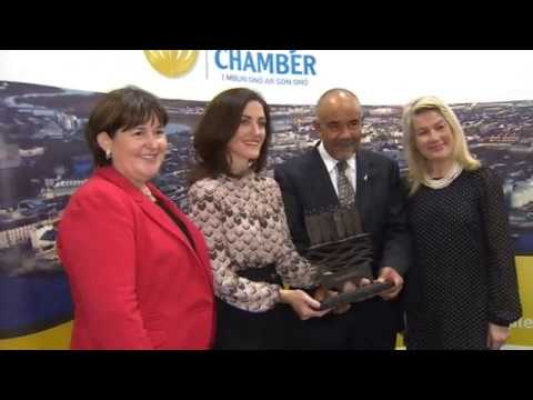 Māori language delegation learn from Galway businesses