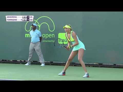 Taylor Townsend vs Amanda Anisimova