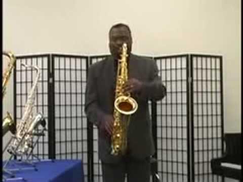 Ronnie Laws tenor saxophones
