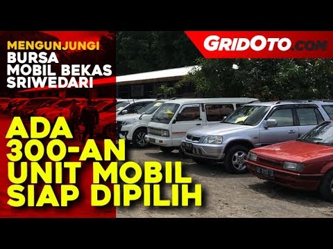 Mampir Yuk Ke Bursa Mobil Bekas Sriwedari,  Ada 300-an Unit Mobil Siap Dipilih Lo