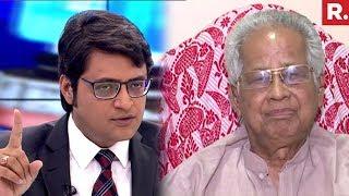 Former Assam CM Tarun Gogoi Speaks To Arnab Goswami | #IndiansFirst