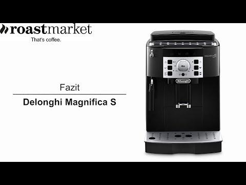 kaffeevollautomat delonghi magnifica s im test 3 fazit. Black Bedroom Furniture Sets. Home Design Ideas