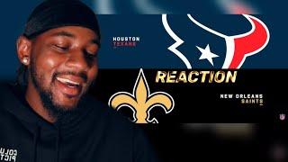 Texans vs. Saints Week 1 Highlights | NFL 2019 🏈 REACTION