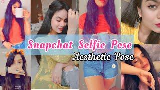 BEST Snapchat selfie poses | Profile & DP pose | Aesthetic & snapchat filters | My_clicks Instagram screenshot 1
