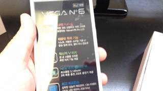 PANTECH VEGA NO. 6 IMA860L Unboxing Video - CELL PHONE in Stock at www.welectronics.com