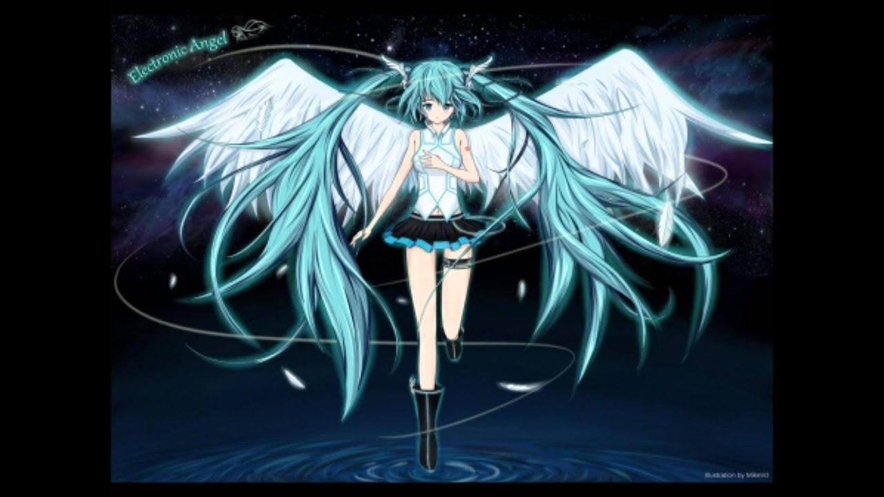 hatsune miku angel wallpapers - photo #43