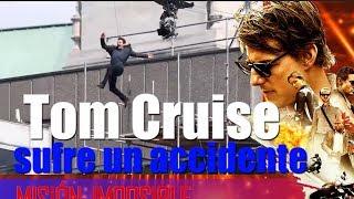 Tom Cruise sufre un accidente durante el rodaje de 'Misión Imposible 6' en Londres