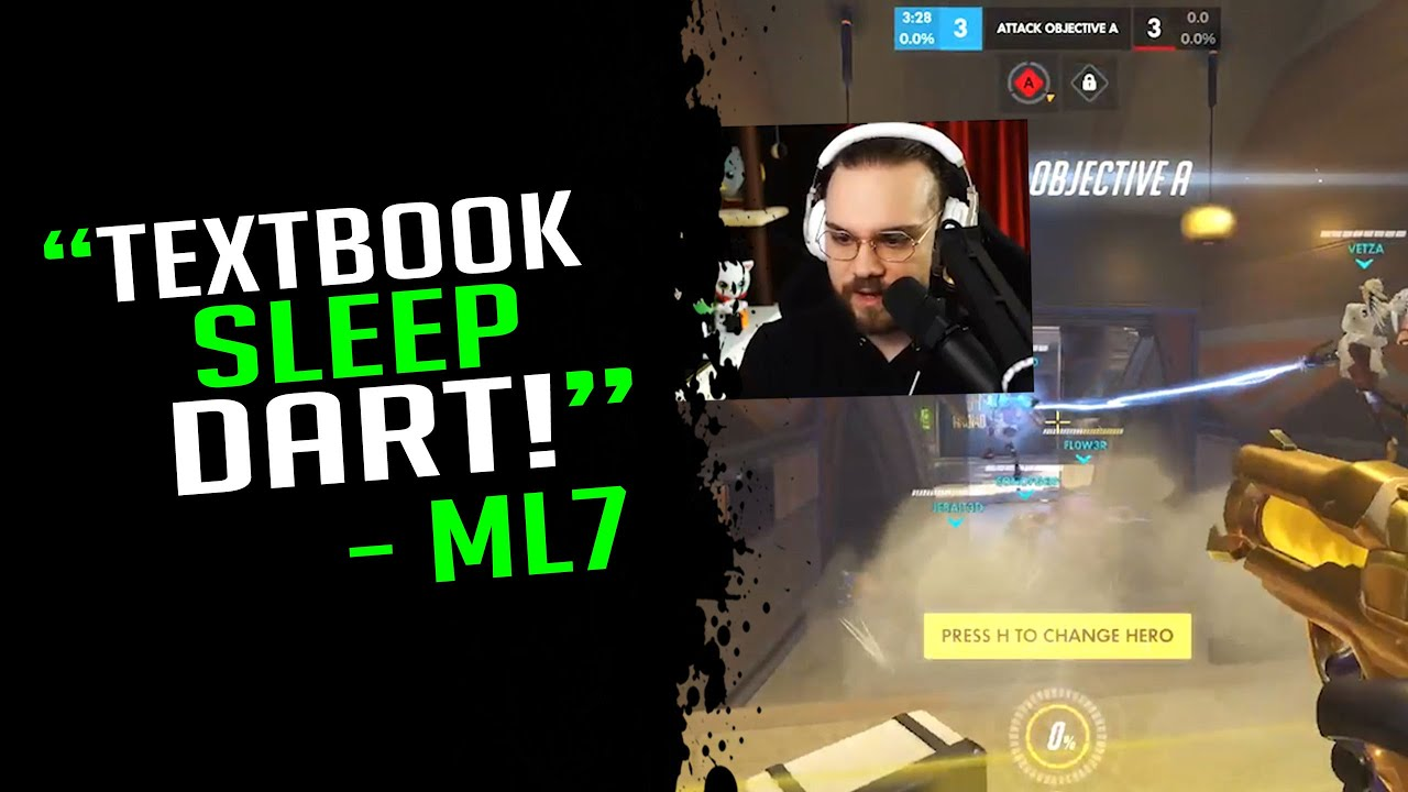 Download mL7 Shows Another Impressive Sleep Dart! - Overwatch Streamer Moments Ep. 649