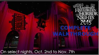Roblox Halloween horror nights 1:MAXIMUM ChAoS Complete walkthrough