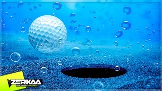 UNDERWATER MINIGOLF? (Golf It)
