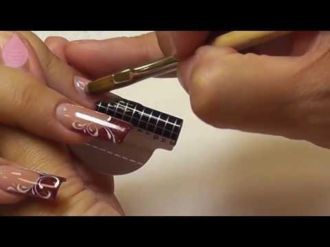 видео урок   наращивание ногтей гелем